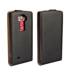 LG G Flex 2用フリップ レザーケース スタンド LG ブラック