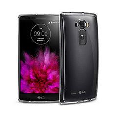 LG G Flex 2用極薄ソフトケース シリコンケース 耐衝撃 全面保護 クリア透明 LG クリア