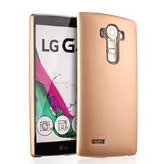 LG G4用ハードケース プラスチック 質感もマット LG ゴールド