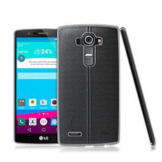 LG G4用極薄ソフトケース シリコンケース 耐衝撃 全面保護 クリア透明 LG クリア