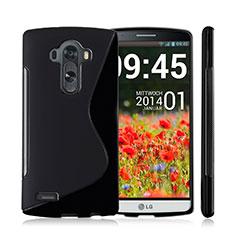 LG G4用ソフトケース S ライン LG ブラック