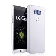 LG G5用ハードケース プラスチック 質感もマット LG ホワイト