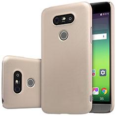 LG G5用ハードケース プラスチック 質感もマット R01 LG ゴールド