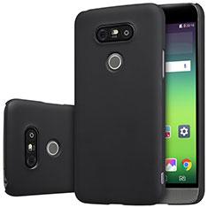LG G5用ハードケース プラスチック 質感もマット R01 LG ブラック