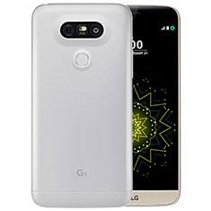 LG G5用極薄ソフトケース シリコンケース 耐衝撃 全面保護 クリア透明 T03 LG クリア