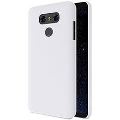 LG G6用ハードケース プラスチック 質感もマット LG ホワイト