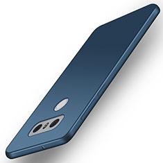 LG G6用極薄ソフトケース シリコンケース 耐衝撃 全面保護 LG ネイビー