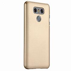 LG G6用ハードケース プラスチック 質感もマット LG ゴールド