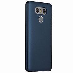 LG G6用ハードケース プラスチック 質感もマット LG ネイビー