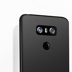 LG G6用シリコンケース ソフトタッチラバー LG ブラック
