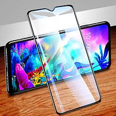 LG G8X ThinQ用強化ガラス フル液晶保護フィルム LG ブラック