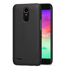 LG K10 (2017)用ハードケース プラスチック 質感もマット LG ブラック
