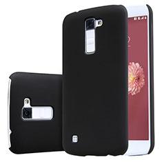 LG K10用ハードケース プラスチック 質感もマット LG ブラック