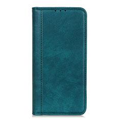 LG K52用手帳型 レザーケース スタンド カバー L07 LG グリーン