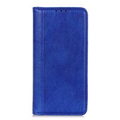 LG K52用手帳型 レザーケース スタンド カバー L07 LG ネイビー