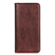 LG K52用手帳型 レザーケース スタンド カバー L07 LG ブラウン