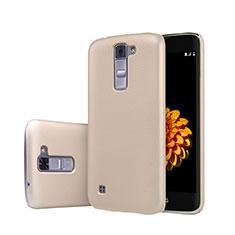 LG K7用ハードケース プラスチック 質感もマット LG ゴールド
