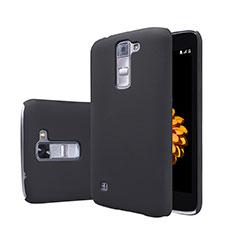 LG K7用ハードケース プラスチック 質感もマット LG ブラック