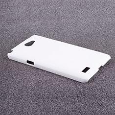 LG L Bello 2用ハードケース プラスチック 質感もマット LG ホワイト