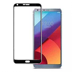 LG Q7用強化ガラス フル液晶保護フィルム LG ブラック