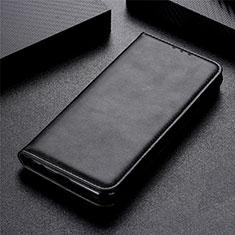LG Stylo 6用手帳型 レザーケース スタンド カバー L05 LG ブラック
