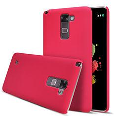 LG Stylus 2 Plus用ハードケース プラスチック 質感もマット M01 LG レッド