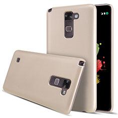 LG Stylus 2 Plus用ハードケース プラスチック 質感もマット LG ゴールド