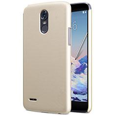 LG Stylus 3用ハードケース プラスチック 質感もマット LG ゴールド
