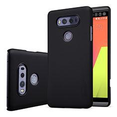 LG V20用ハードケース プラスチック 質感もマット LG ブラック