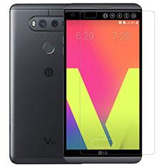 LG V20用強化ガラス 液晶保護フィルム T01 LG クリア
