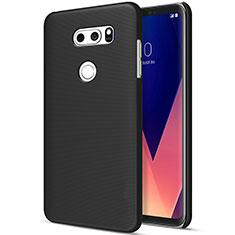 LG V30用ハードケース プラスチック 質感もマット LG ブラック