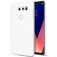 LG V30用ハードケース プラスチック 質感もマット LG ホワイト