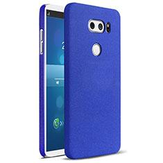 LG V30用ハードケース プラスチック カバー LG ネイビー