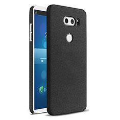 LG V30用ハードケース カバー プラスチック LG ブラック