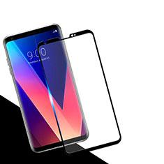 LG V30用強化ガラス フル液晶保護フィルム F02 LG ゴールド