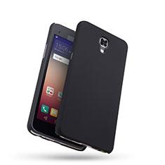 LG X Screen用ハードケース プラスチック 質感もマット LG ブラック