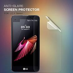 LG X Screen用高光沢 液晶保護フィルム LG クリア