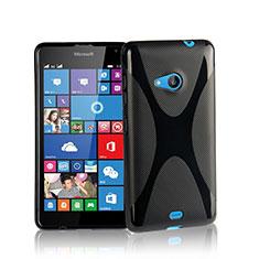 Microsoft Lumia 535用ソフトケース X ライン Microsoft ブラック