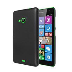 Microsoft Lumia 535用ハードケース プラスチック 質感もマット Microsoft ブラック