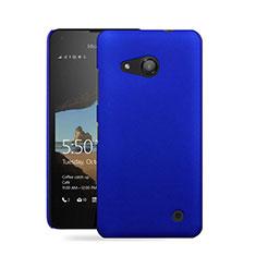 Microsoft Lumia 550用ハードケース プラスチック 質感もマット Microsoft ネイビー