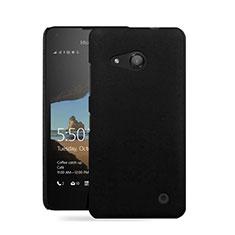 Microsoft Lumia 550用ハードケース プラスチック 質感もマット Microsoft ブラック