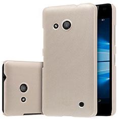 Microsoft Lumia 550用ハードケース プラスチック 質感もマット M01 Microsoft ゴールド