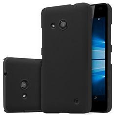 Microsoft Lumia 550用ハードケース プラスチック 質感もマット M01 Microsoft ブラック