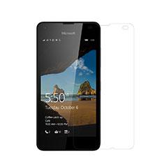 Microsoft Lumia 550用高光沢 液晶保護フィルム Microsoft クリア