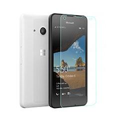 Microsoft Lumia 550用強化ガラス 液晶保護フィルム Microsoft クリア