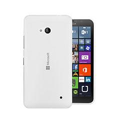Microsoft Lumia 640用極薄ソフトケース シリコンケース 耐衝撃 全面保護 クリア透明 Microsoft クリア