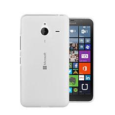 Microsoft Lumia 640 XL Lte用極薄ソフトケース シリコンケース 耐衝撃 全面保護 クリア透明 Microsoft ホワイト