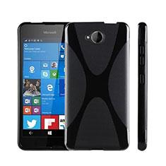 Microsoft Lumia 650用ソフトケース X ライン Microsoft ブラック