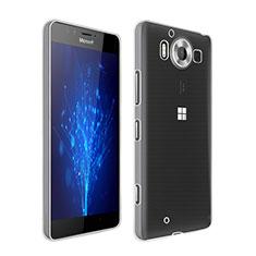 Microsoft Lumia 950用極薄ソフトケース シリコンケース 耐衝撃 全面保護 クリア透明 Microsoft クリア