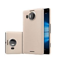Microsoft Lumia 950 XL用ハードケース プラスチック 質感もマット Microsoft ゴールド